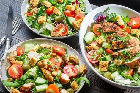 Como Preparar ensaladas sanas
