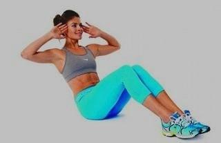 Crunch abdominal en mujeres