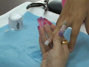 acrílicos para uñas de colores